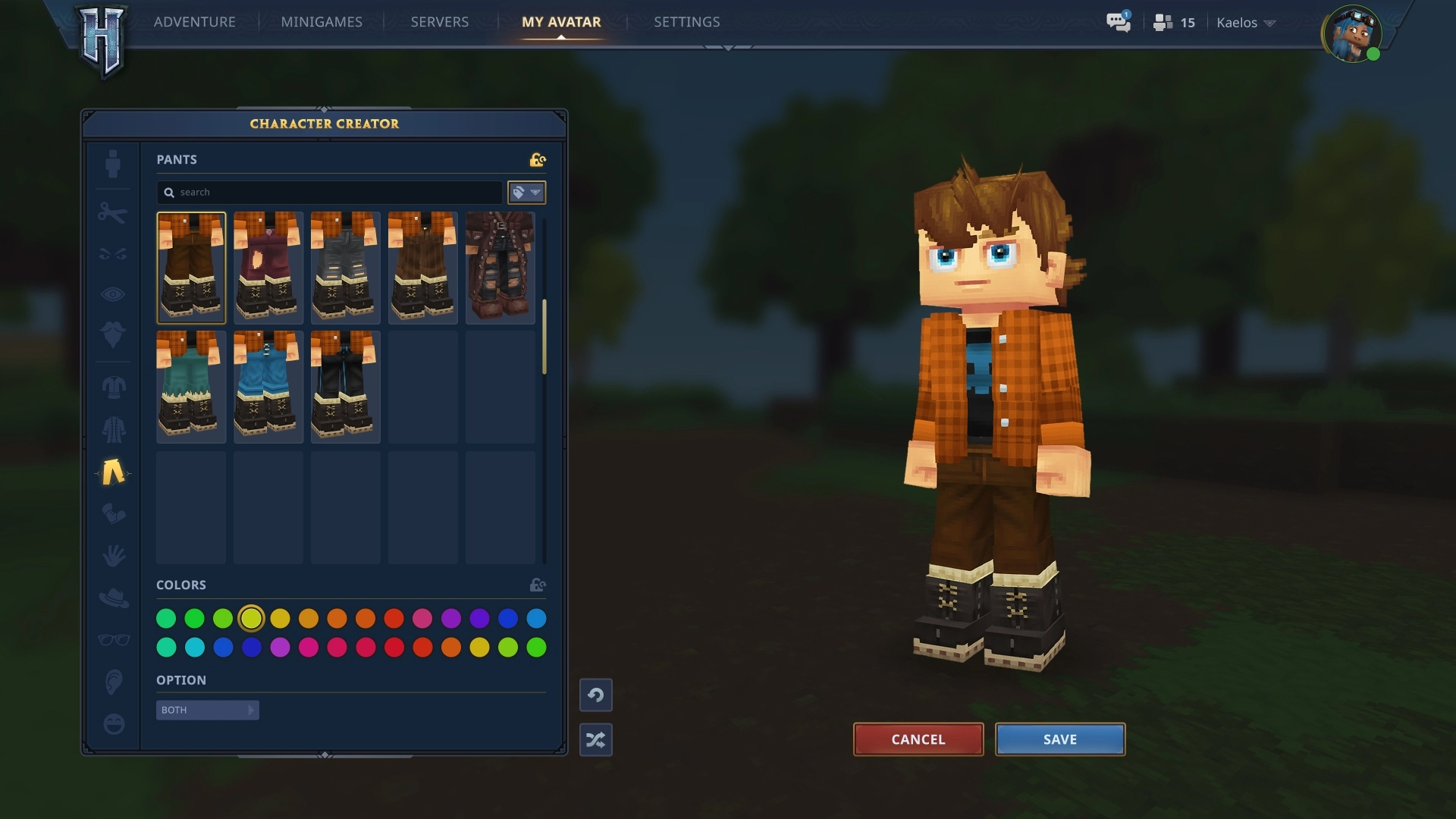 Hytale Server list |In Game Image