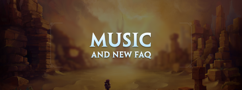 Music track preview, looking back at the announcement, and