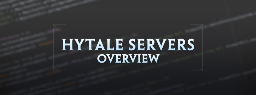 An overview of Hytale's server technology – Hytale