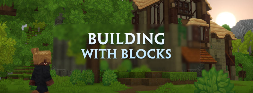 Building with blocks in Hytale – Hytale