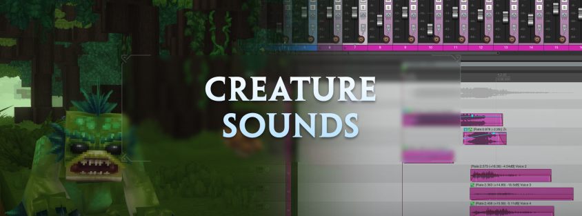 Creating creature sounds for Hytale – Hytale